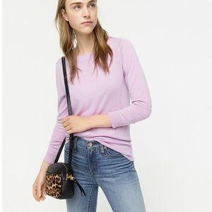 NEW NWT J. Crew Tippi Sweater Color: Vivid Lilac